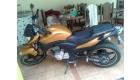 moto cb300r dourada