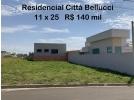Terreno 11 x 25 Citt� Bellucci
