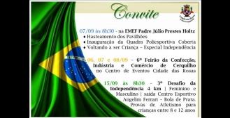 Prefeitura divulga programação da Semana da Independência