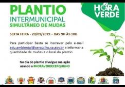 Prefeitura convida a população para participar da Ação HORAVERDE