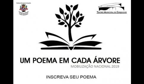 """Projeto �Um poema em cada árvore"""""""