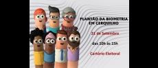 Cartório Eleitoral realiza mais um plantão da biometria