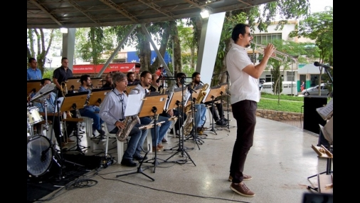 Projeto Música na praça
