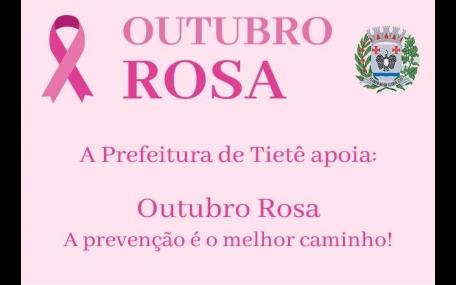 Campanha Outubro Rosa em Tietê