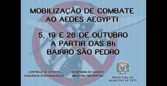 Controle de Vetores - Mobilização de Combate ao Aedes Aegypti