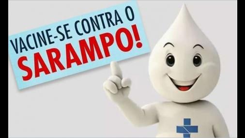 Prefeitura informa sobre Campanha de Vacinação contra o Sarampo