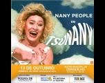 "Teatro Municipal recebe stand up ""TsuNANY"", com Nany People"