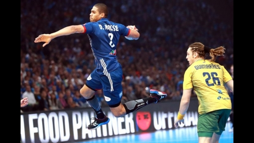 Brasil joga mal e é atropelado pela França na abertura do Mundial de Handebol