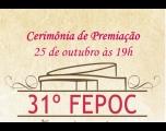 Noite de premiações do 31º Festival de Poemas de Cerquilho