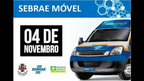 Cerquilho recebe visita do Sebrae Móvel na próxima segunda-feira