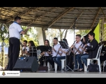Banda Carlos Gomes se apresenta no Música na praça