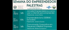 Prefeitura promove Semana do Empreendedor