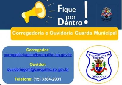 Conheça os contatos da Ouvidoria da Guarda Municipal