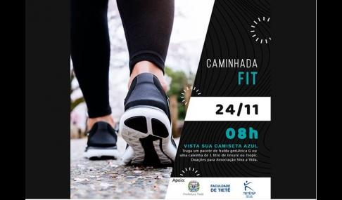 Faculdade Integração e Prefeitura promovem 2ª Caminhada FIT