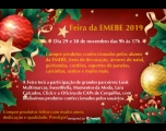 Feira da EMEBE e de parceiros acontece 29 e 30 de novembro