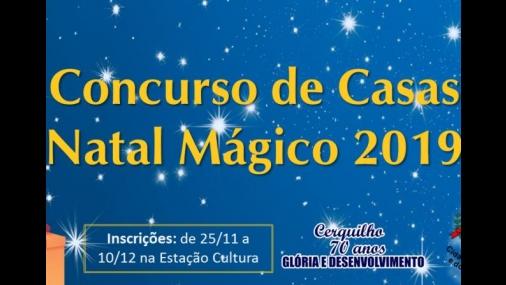 Concurso de Casas Natal Mágico 2019