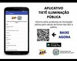Aplicativo para informar sobre falta de iluminação pública