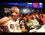 Presidente do PT pede apoio para lançar Lula candidato em abril