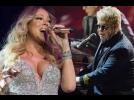 Mariah Carey e Elton John ganham US$ 4,2 milhões para cantar em casamento