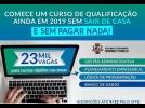 Univesp oferece quatro cursos de 80 horas gratuitamente