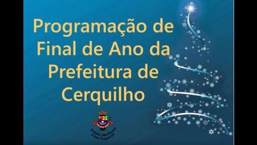 Prefeitura de Cerquilho divulga programação de eventos