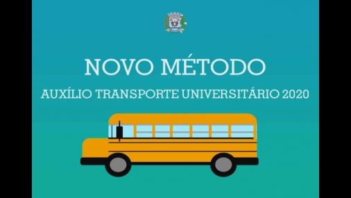 Auxílio Transporte Universitário inicia novo método em 2020