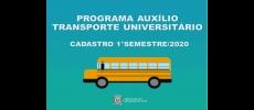 Cadastramento Transporte Universitário tem início no próximo mês