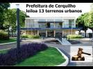 A Prefeitura Municipal está vendendo 13 terrenos urbanos
