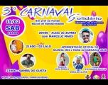 Carnaval Solidário une diversão e generosidade