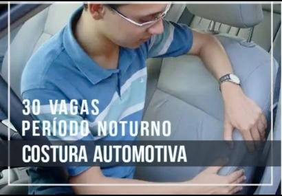 Prefeitura abre inscrições para Curso de Costura Automotiva