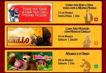 Prefeitura de Cerquilho informa programação do Teatro Municipal