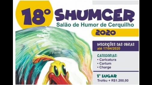 18º Salão de Humor de Cerquilho está com inscrições abertas