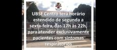Prefeitura de Cerquilho amplia horário atendimento UBSF Centro