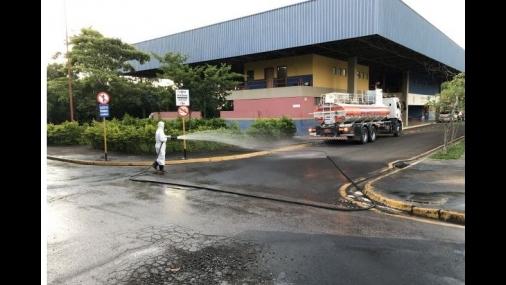 Prefeitura de Cerquilho inicia desinfecção de ruas