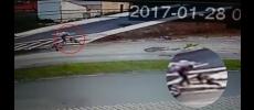 Homem atropela casal de moto, mata rapaz e chuta cabeça da ex em Itu (SP)