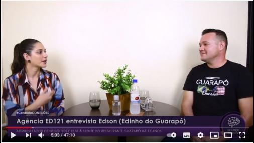 Bate-papo Edinho do restaurante Guarapó