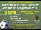 Torneio de Futebol Society em Cerquilho