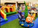 Circuito de brincadeiras no Shopping Piracicaba
