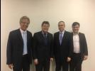 Vlamir Sandei visita Investe SP e Desenvolve SP