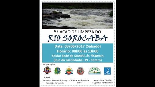5ª Limpeza do Rio Sorocaba