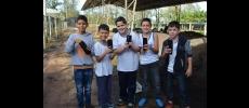 CATI recebe alunos da Escola Milton