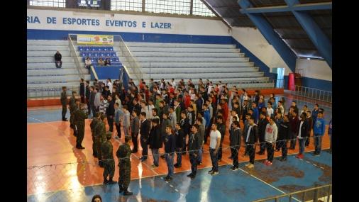 Juramento à bandeira em Tietê