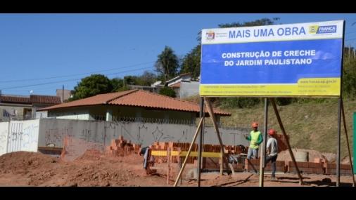 Construção de nova creche no Jardim Paulistano