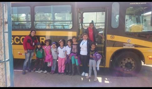 CRAS Cidade das Rosas realiza atividades de férias