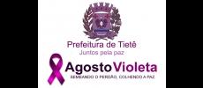 Tietê apoia �Agosto Violeta� contra a violência