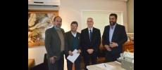 Vlamir Sandei tem reunião com direção da Univesp