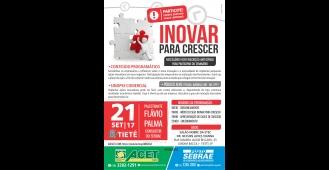 Sebrae de Tietê realiza a palestra �Inovar para Crescer�