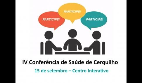 IV Conferência de Saúde de Cerquilho