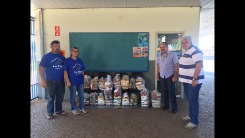 Prefeitura realiza doação para o Lar Pietá