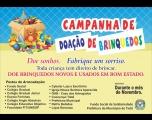 Fundo Social realiza campanha de doação de brinquedos